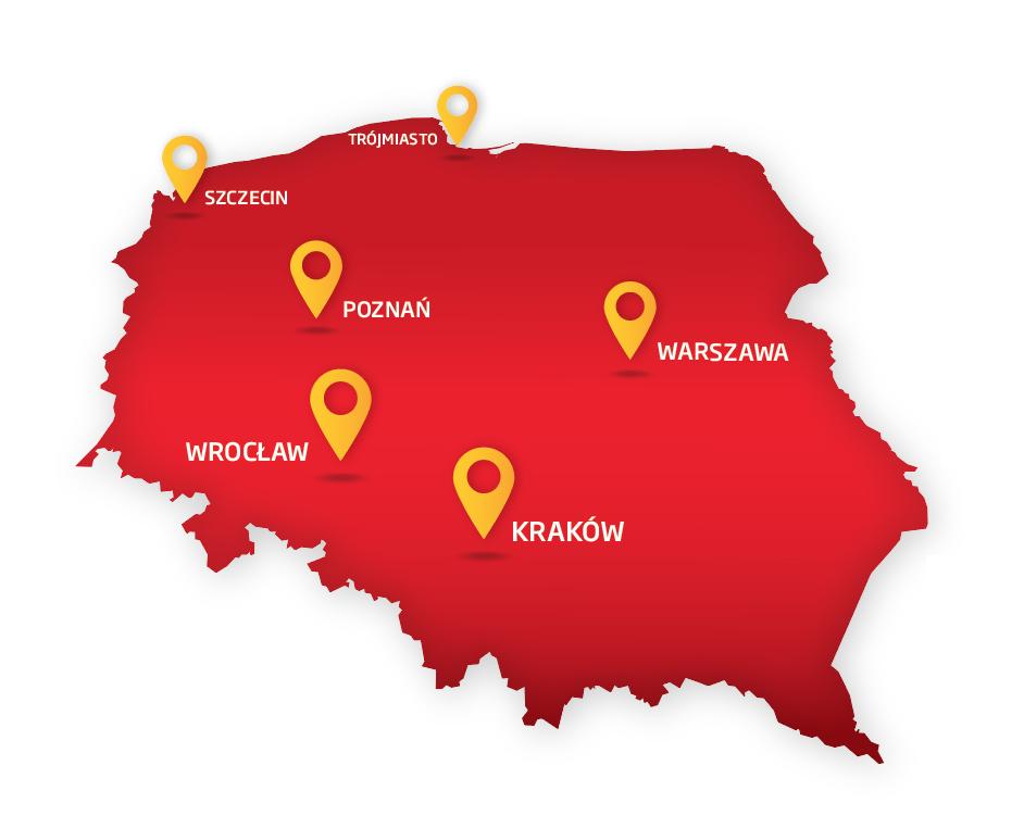 Mapa z ekspertami